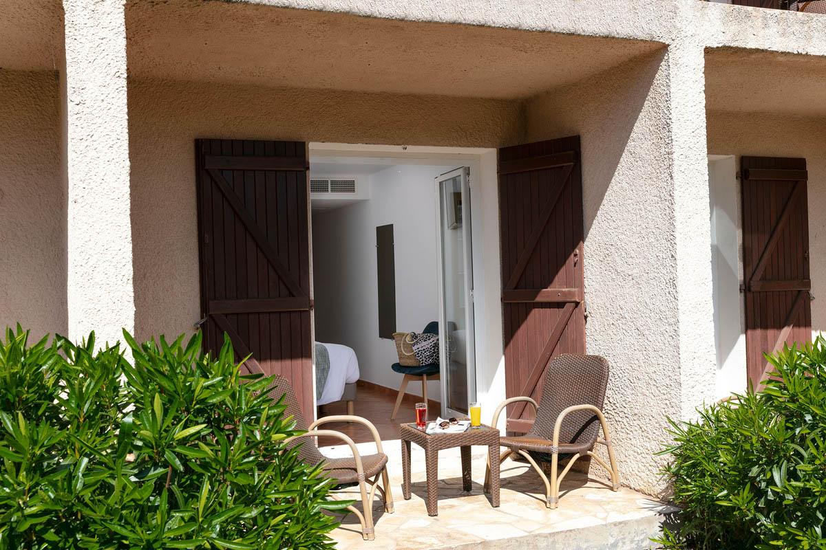 Chambres standard au rez-de-chaussée de l'hôtel San Giovanni